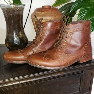 Franco Fortini Witham Leather Boots Size 10.5
